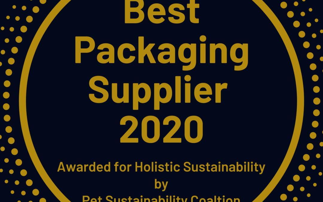Morris Packaging Receives Best Supplier Award
